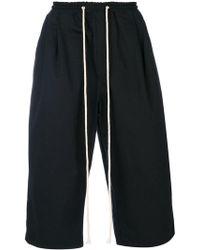 Yuiki Shimoji - Shorts cargo con cordones largos - Lyst