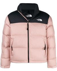 The North Face - Two-tone Padded Jacket - Lyst