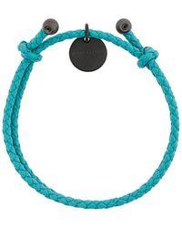 Bottega Veneta - Intrecciato Knot Bracelet - Lyst