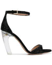 Valentino - Garavani Curved Heel Sandals - Lyst