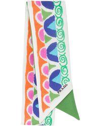 Prada - Printed Ribbon - Lyst
