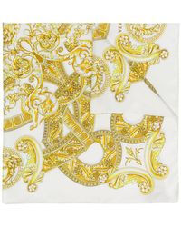 Versace - Baroque Print Scarf - Lyst