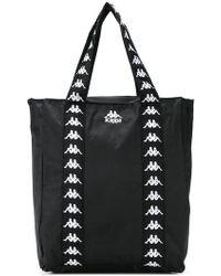 782245fe9e7f Kappa - Authentic Anim Logo Tote Bag In Black - Lyst