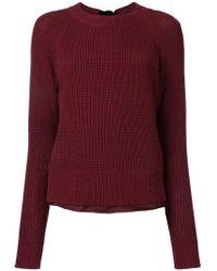 MUVEIL - Fisherman Knit Sweater - Lyst