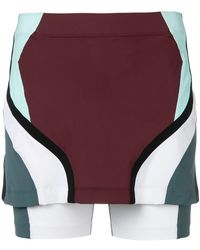 NO KA 'OI - Colour Block Fitted Skort - Lyst