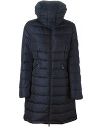 Moncler - 'flamette' Padded Coat - Lyst