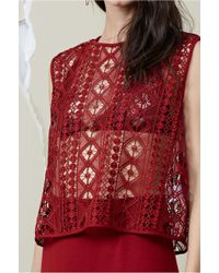 Finders Keepers - Bosnia Shell Top - Lyst