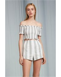 The Fifth Label - Poetic Stripe Short - Lyst