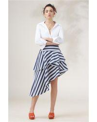 Finders Keepers - Longshot Stripe Skirt - Lyst