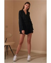 ceacdb5fa9 The Fifth Label - Florence Long Sleeve Playsuit - Lyst