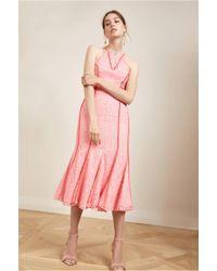 Keepsake - Dreamers Lace Midi Dress - Lyst