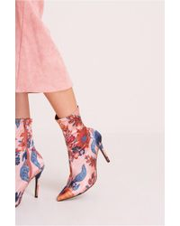 Jaggar - Compact Floral Sock Boot - Lyst