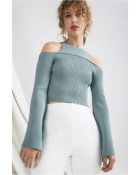 C/meo Collective - Emerge Knit Top - Lyst