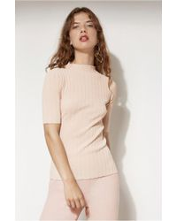 C/meo Collective - Mind Reader Knit Top - Lyst