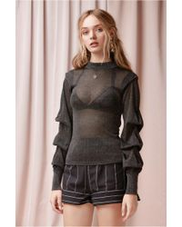 Finders Keepers - Forward Knit Top - Lyst