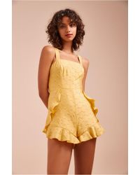C/meo Collective - Magnetise Playsuit - Lyst