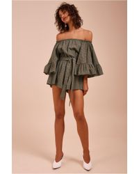 C/meo Collective - Runaways Playsuit - Lyst