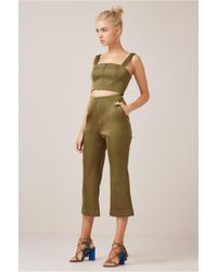 Finders Keepers - Permission Crop Flare - Lyst