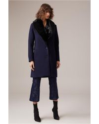 C/meo Collective - Double Trouble Coat - Lyst