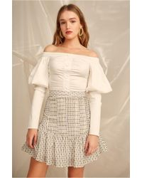 C/meo Collective - Even Love Skirt - Lyst