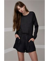 The Fifth Label - Time Stand Still Long Sleeve Playsuit - Lyst