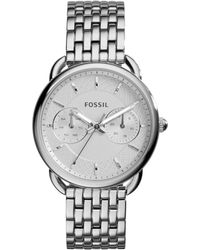 Fossil - Tailor Watch Silver - Lyst