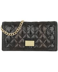 c3fe682d5b4a Love Moschino - Quilted Snake Crossbody Bag Nero - Lyst