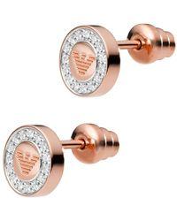 Emporio Armani - Eg3054221 Earring Roségold - Lyst