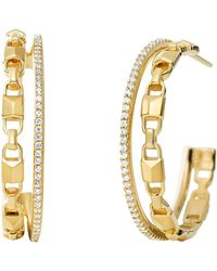 Michael Kors - 14k Rose Gold-plated Sterling Silver Or Solid Sterling Silver - Lyst