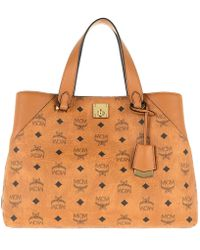7e7f05dd4e0 Gucci Bree Original Gg Canvas Top Handle Bag in Natural - Lyst