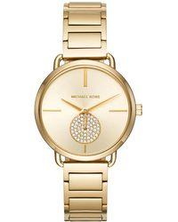 Michael Kors - Mk3639 Ladies Portia Watch Gold - Lyst