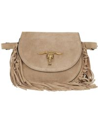 Polo Ralph Lauren - Montana Crossbody Bag Small Bisque - Lyst