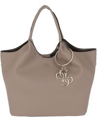 Guess - Flora Shopper Taupe - Lyst