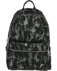 Dolce & Gabbana - Vulcano Backpack Camouflage Leather Black - Lyst