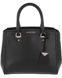 Michael Kors - Benning Md Messenger Bag Black - Lyst