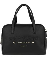 Versace Jeans - Strap Handle Bag Black - Lyst
