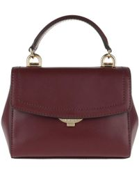 c4e8b5be6afd Michael Kors Harrison Sm Flight Bag Oxblood - Lyst