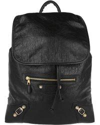 Balenciaga - Giant Traveller Backpack Black - Lyst