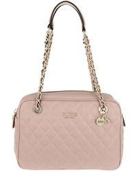 fb53d766b4694f Michael Kors · Guess - Sweet Candy Shoulder Bag Cameo - Lyst