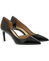 HUGO - Ramy Pump Patent Leather Black - Lyst