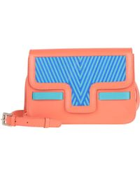 Lili Radu - Lili's Shoulder Bag V Orange Striking Blue - Lyst