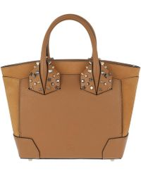 Christian Louboutin - Eloise Small Handle Bag Leather Safari - Lyst
