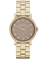 Marc Jacobs - Ladies Baker Watch Gold - Lyst