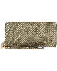 Michael Kors - Money Pieces Travel Continental Gold - Lyst