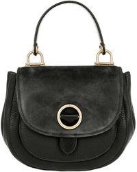 Michael Kors - Isadore Sm Messenger Bag Leather Black - Lyst