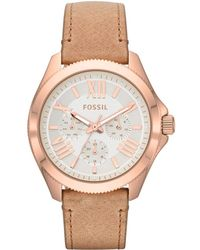 Fossil - Cecile Chrono Sand - Lyst
