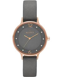 Skagen - Skw2267 Ladies Anita Stainless Steel Watch Grey - Lyst