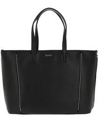 HUGO - Mayfair Shopper Studs Black - Lyst