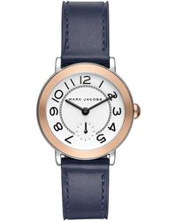 Marc Jacobs - Mj1602 Riley Classic Watch Silver - Lyst