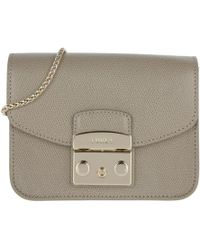 Furla - Metropolis Mini Crossbody Bag Sabbia - Lyst